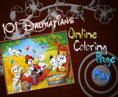 101 Dalmatiers Kleurplaat