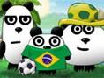 3 Pandas in Brasilien