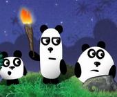 3 Pandas Nacht