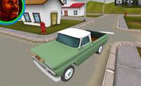 3D American Truck Driver