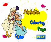 Aladdin Kleurplaat 2