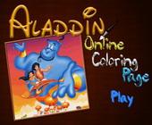 Aladdin Kleurplaat
