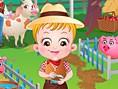 Baby Hazel auf der Farm