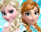 Bekleide die Prinzessin des Schneelandes