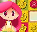 Bunte Blumen im Regenbogenschloss