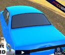Driften im Sportwagen 3D