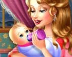 Echte Babypflege