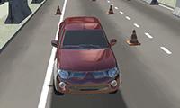 Einparken: Reale 3D-Simulation