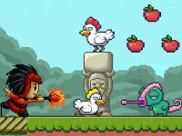 Fang die Hühner