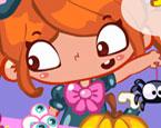 Faulenzen in Halloween