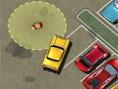 Geschickter Taxifahrer