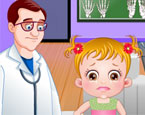 Hazel Baby beim Arzt