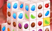 Mahjong-Dimensionen: Süssigkeiten