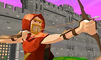 Meisterschütze 3D: Verteidige die Burg