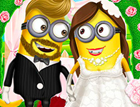 Minion Girl Wedding Party