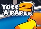 Papierball werfen 2