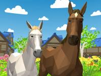 Pferde Simulator 3D