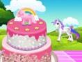 Pony Kuchen Dekoration