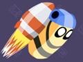 Raketen-Flucht