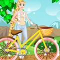 Rapunzel: Reparatur ihres Fahrrads