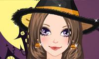 Spiele Halloween Make-Up-Spiel