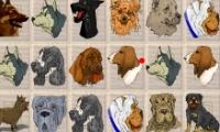 Spiele Hunde-Mahjong