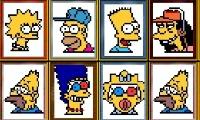 Spiele Simpsons-Mahjong