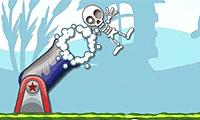 Spiele Skelett-Kanone