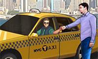 Spiele Taxifahrt durch New York