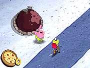 Sponge Bobs Pizza Toss