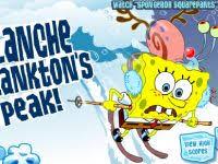 Spongebobs Flucht vor der Lawine