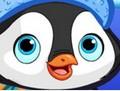 Spring, kleiner Pinguin