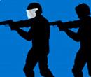 SWAT-Einheit vs. Terroristen