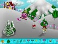 Toto und Sisi fahren ski