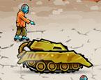 Verärgerter Panzerfahrer
