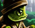 Wütende Schildkröte